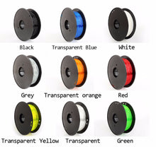 High quality 3d printer flexible filament 0.8KG/roll TPU, PLA filament In 9 color, 1.75mm.