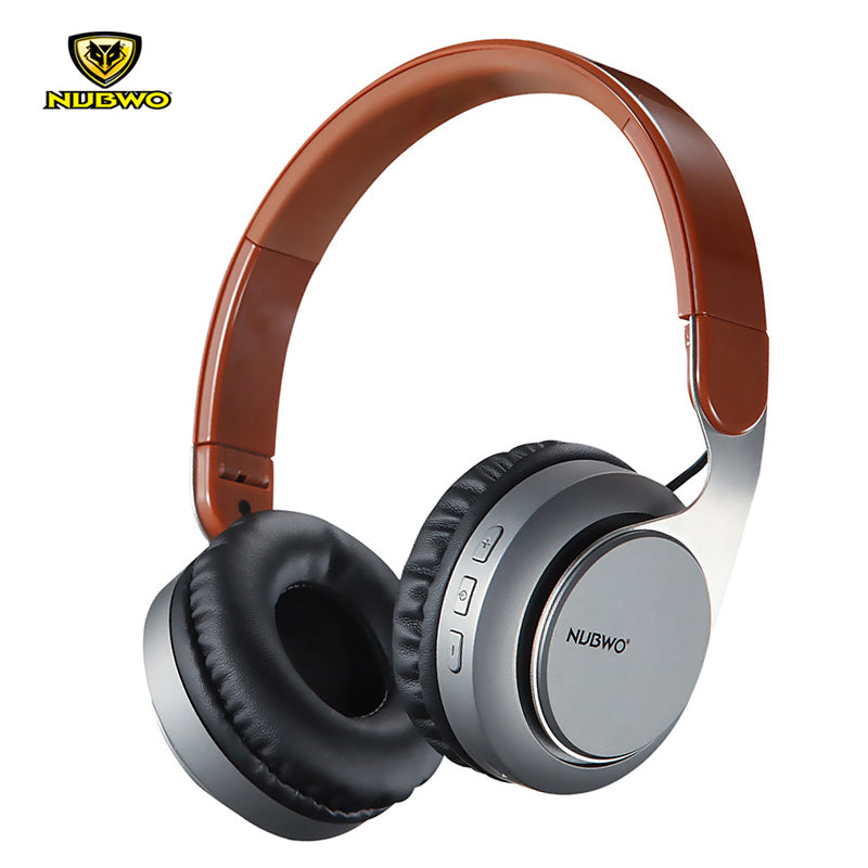Stylish Wireless Bluetooth 4.2 Headphones With Mic,  Noise Cancelling.