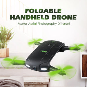Foldable Pocket Selfie Drone With Camera.