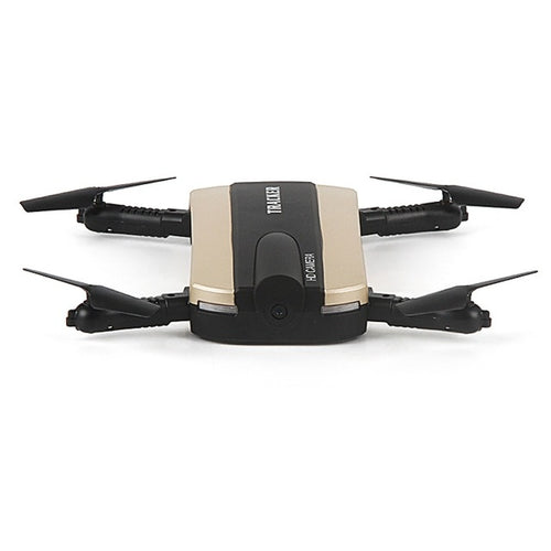 Foldable Selfie Drone,  Phone Controlled Mini Drone With Altitude Hold, Headless Mode And HD Camera.