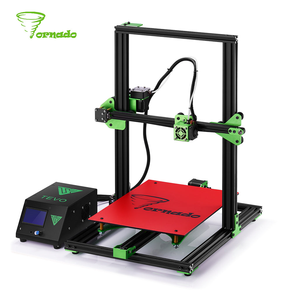Brand New 2017 TEVO Tornado, Fully Assembled 3D Printer.