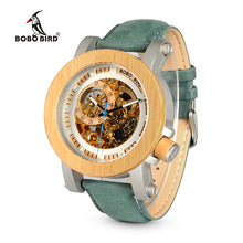 BOBO BIRD WK13 Luxury Bamboo Watch with wooden case.
