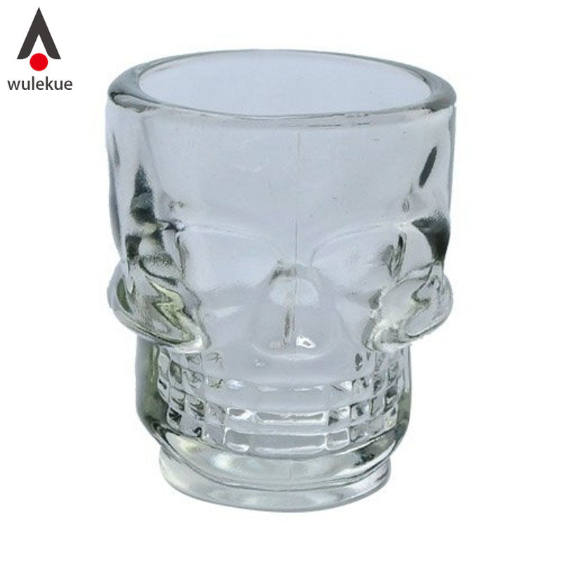 4 Piece Crystal Skull Shot Glasses.