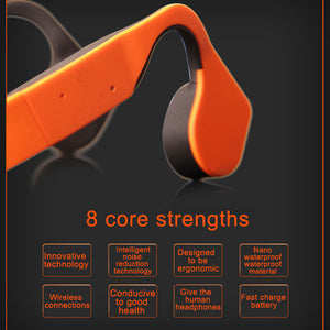 New Arrival Sports Bluetooth Bone Conduction Headphone With Mic.