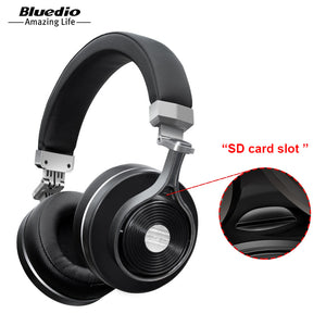 Bluedio T3 Bluetooth Headphones with Mic And Micro SD Slot.
