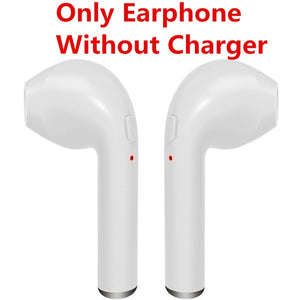 Bluetooth Air Pods, Wireless Earphones + Charging Case Universal for Iphone 7, 8, X.