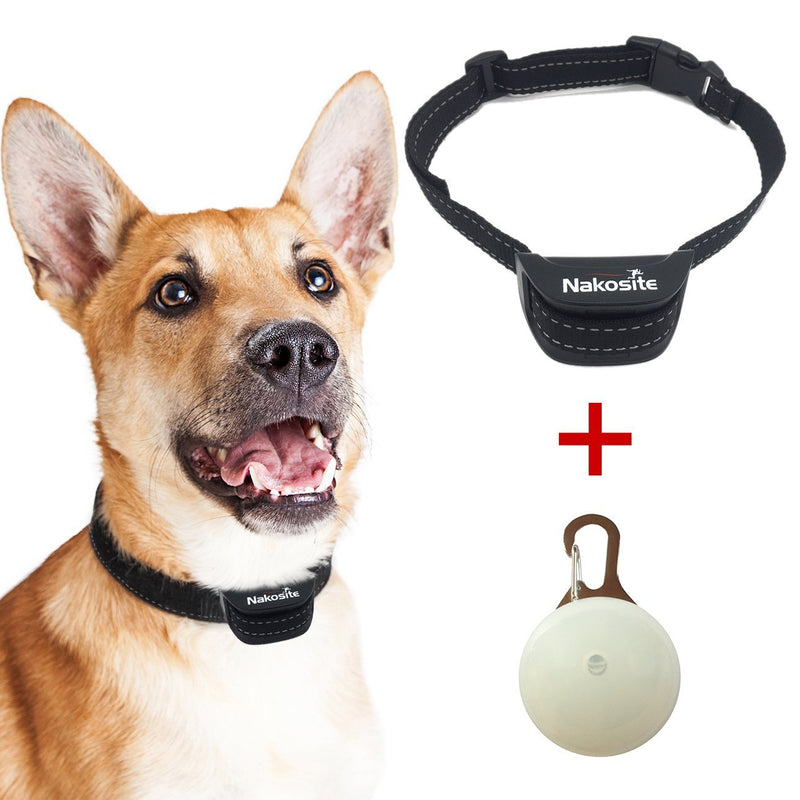 Nakosite PET2433 Best Anti Bark Dog Collar for small, medium, large dogs. Stop dogs barking Collar. PREMIUM.
