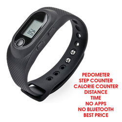 NAKOSITE PBN 2433 Best Activity Tracker, Pedometer, Step Counter, Calorie Counter, Distance. PREMIUM