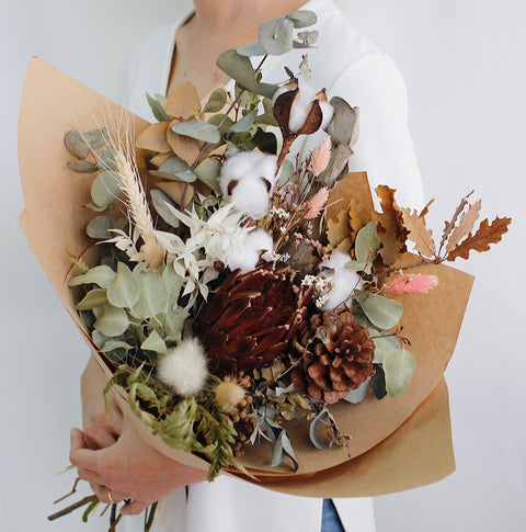 WithEveryBloom Dried Blooms Bouquet