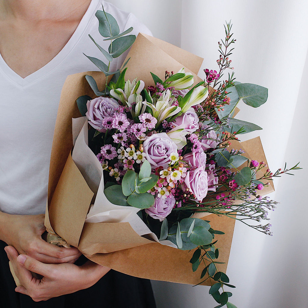 Lilac Snack Graduation Bouquet