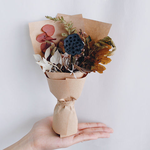 Dried Blooms Mini Bouquet