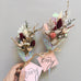 -NEW- Dried Mini Bouquets (Bundle of 4)