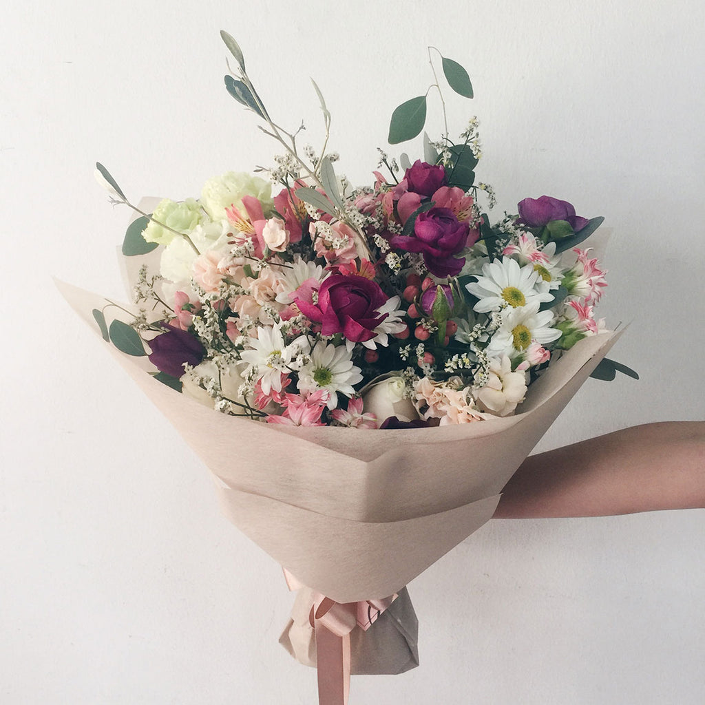 Portfolio Bouquets Rustic Bouquets With Every In Singapore