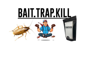 EOFYS SALE! SAVE over 30% on The C-Bomb™ DIY German Cockroach Control Kit with Fipronil Gel