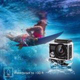 "Ultra HD 4K WiFi 2.0"" 170D 20MP Waterproof Action camera"