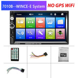 "7"" Touch Screen Multimedia Player with Backup Camera For Your Car"