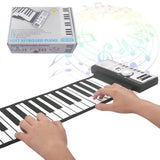 Flexible Roll-Up 61 Keys Piano