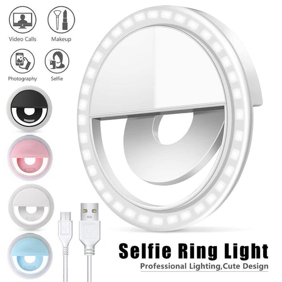 LED Selfie Ring For Mobile Phone
