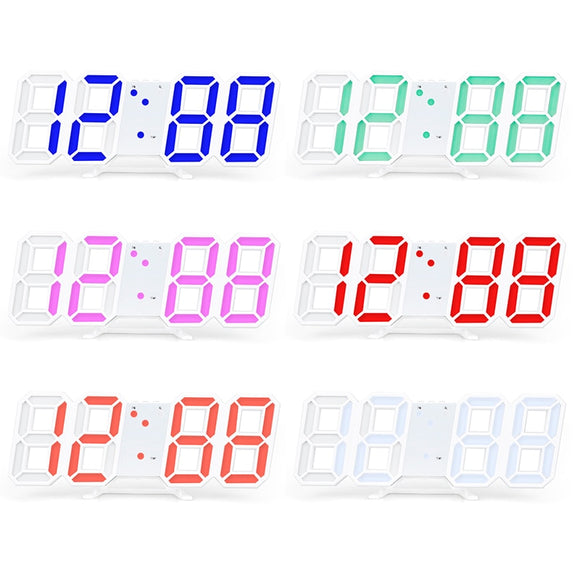 Jumbo Led Wall Clock