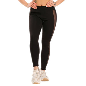See-through Striped leggings For Women