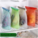 Silicone Food Fresh Bag Reusable Vacuum Sealer - Everything all I want