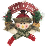 Christmas Party Pine Wreath - Everything all I want