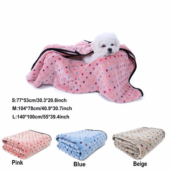 Cute Soft Blanket For Dogs & Cats - Everything all I want