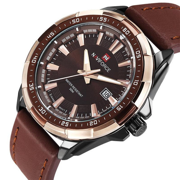 Genuine Leather Sports Men Watch - Everything all I want