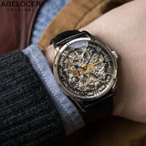 AGELOCER Mechanical Design Swiss Watch