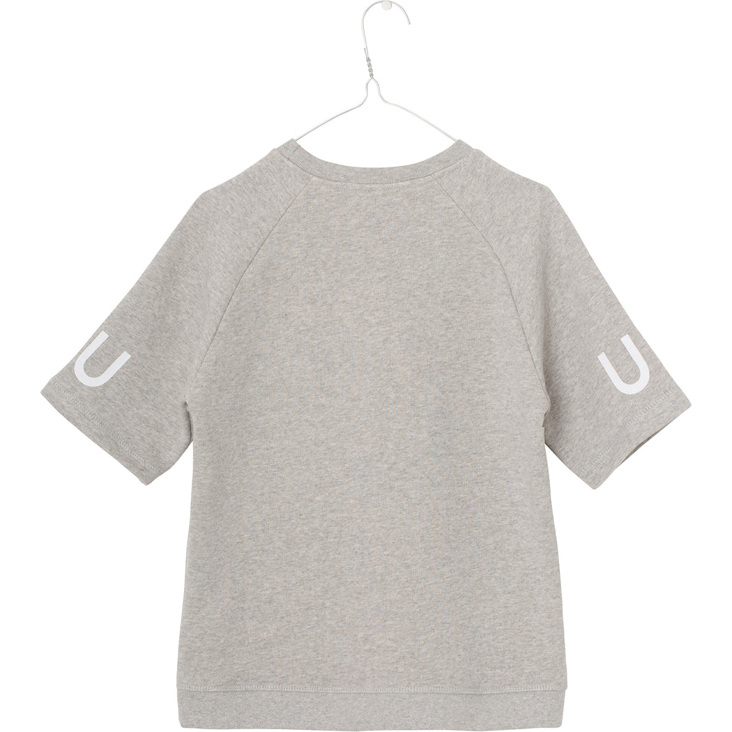 Sean T-shirt - Light Grey Melange