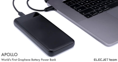 ELECJET APOLLO PROJECT : World's First Graphene Battery USB C PD Power Bank