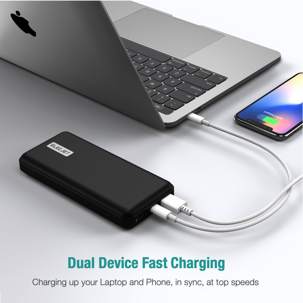 PowerPie: 20000mAh 45W USB C PD(PPS) Power Bank