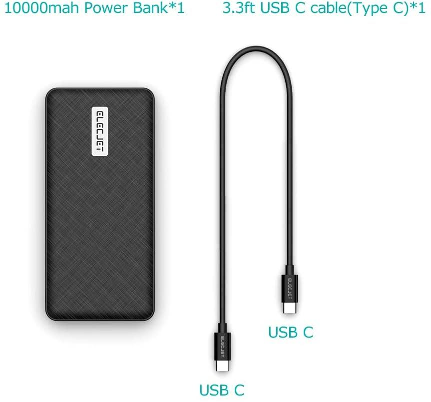 PowerPie X: 45W USB C PD Power Bank, 20000mAh