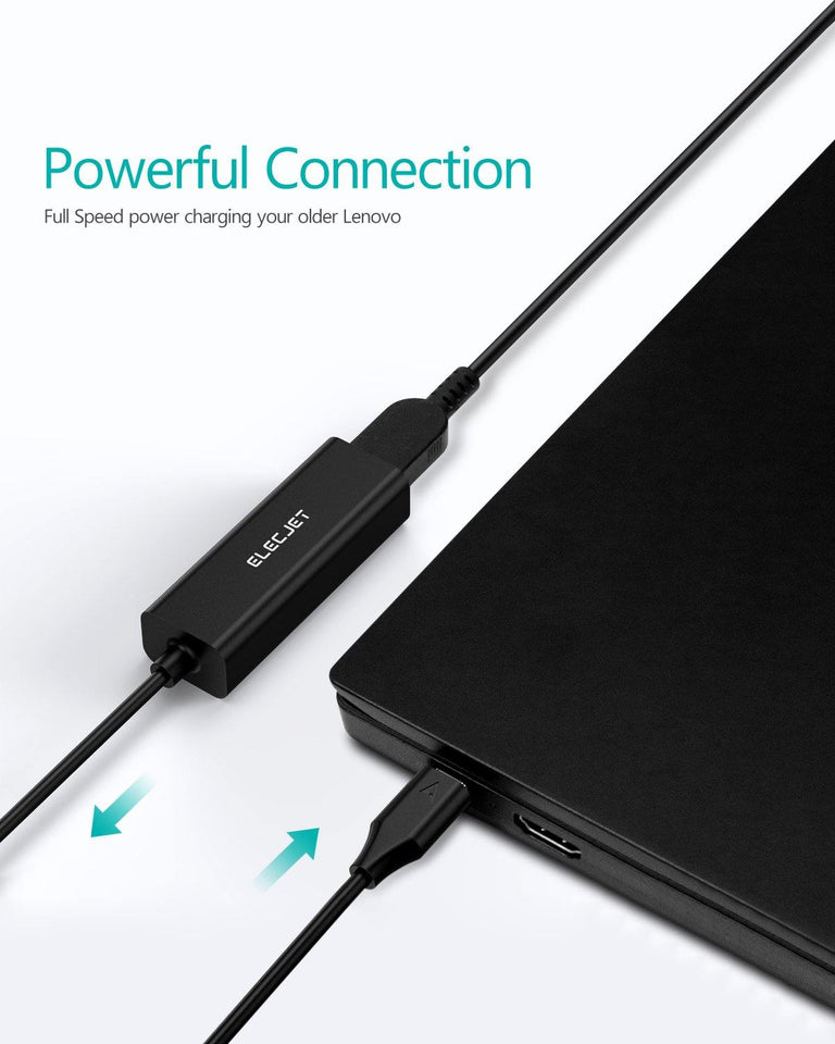 AnyWatt SQ: Lenovo Square Base to USB C PD Power Adapter