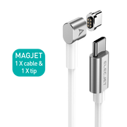 MagJet M6: Magnetic USB C to USB C Charging Cable