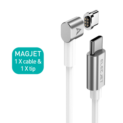 MagJet: Magnetic USB C to USB C Charging Cable