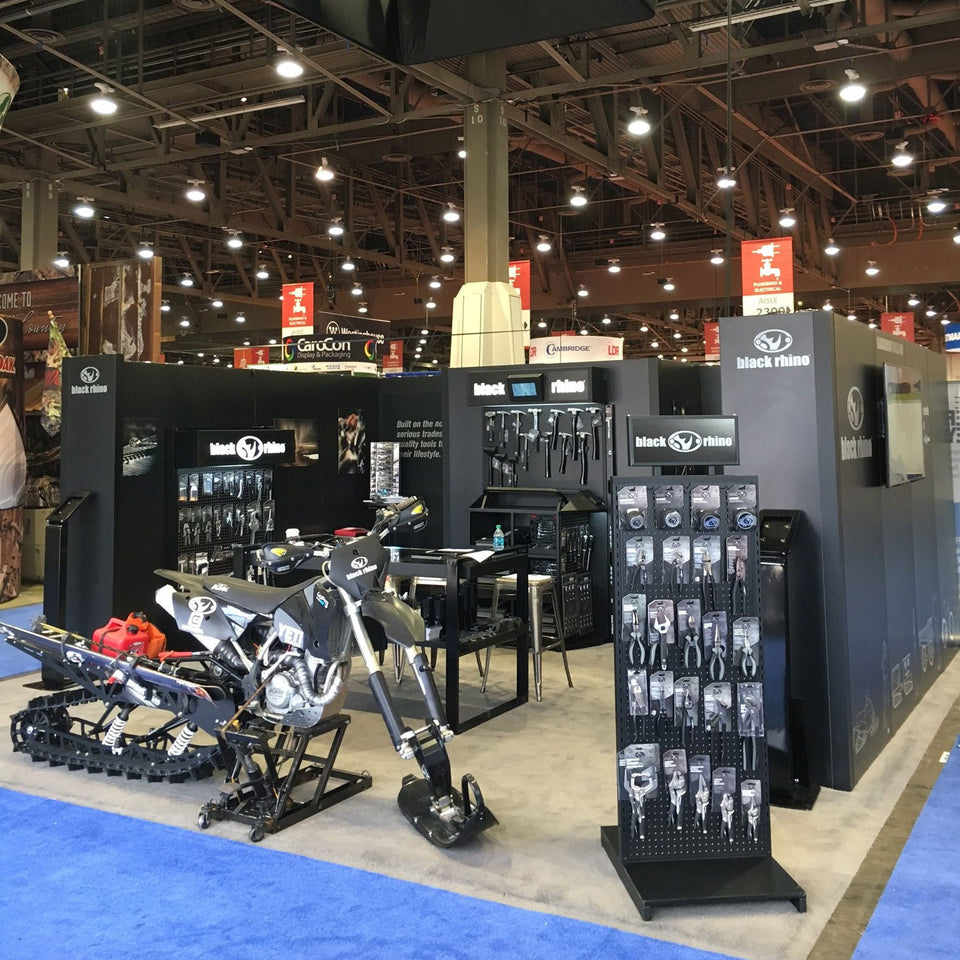 Black Rhino Tools Tradeshow Booth