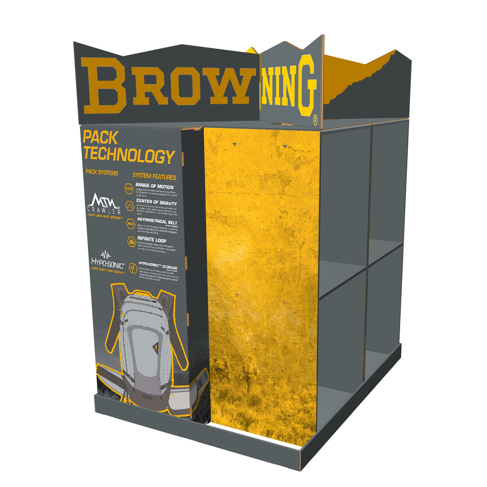 Browning Bags & Packs Display Render