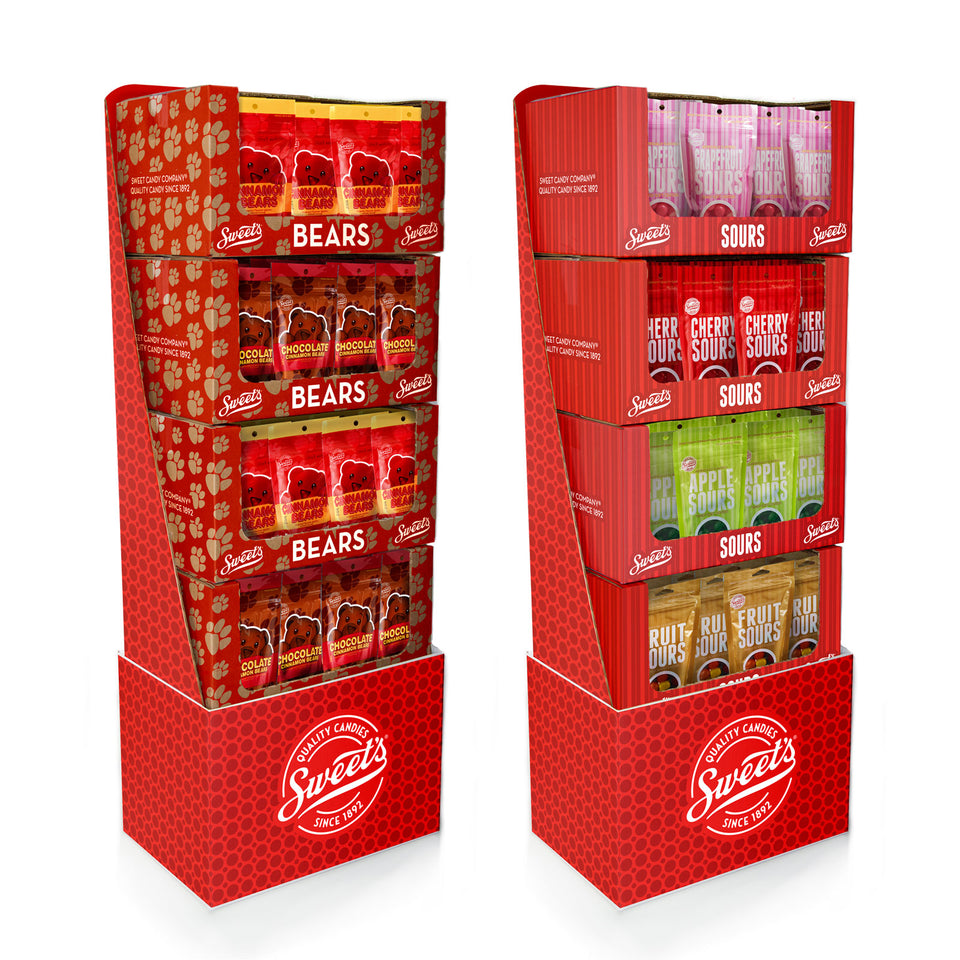 Sweet's Stacking Display