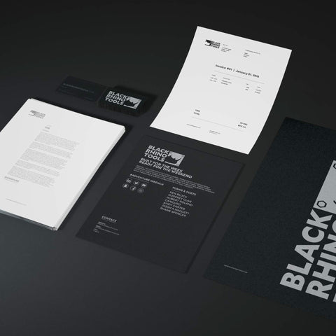 Black Rhino Tools Branding Concepts