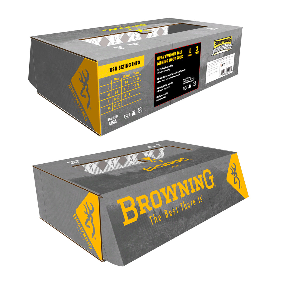 Browning Socks Box