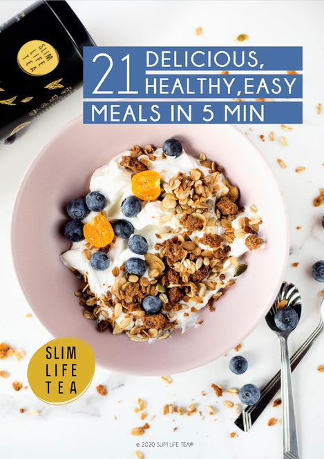21 Delicious, Healthy, Easy Meals in 5 Min e-Book - Gift