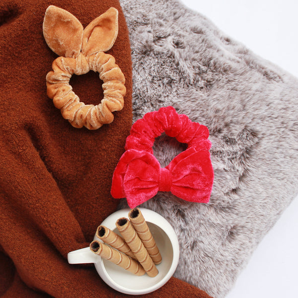Reindeer Games - 2 Scrunchie Set