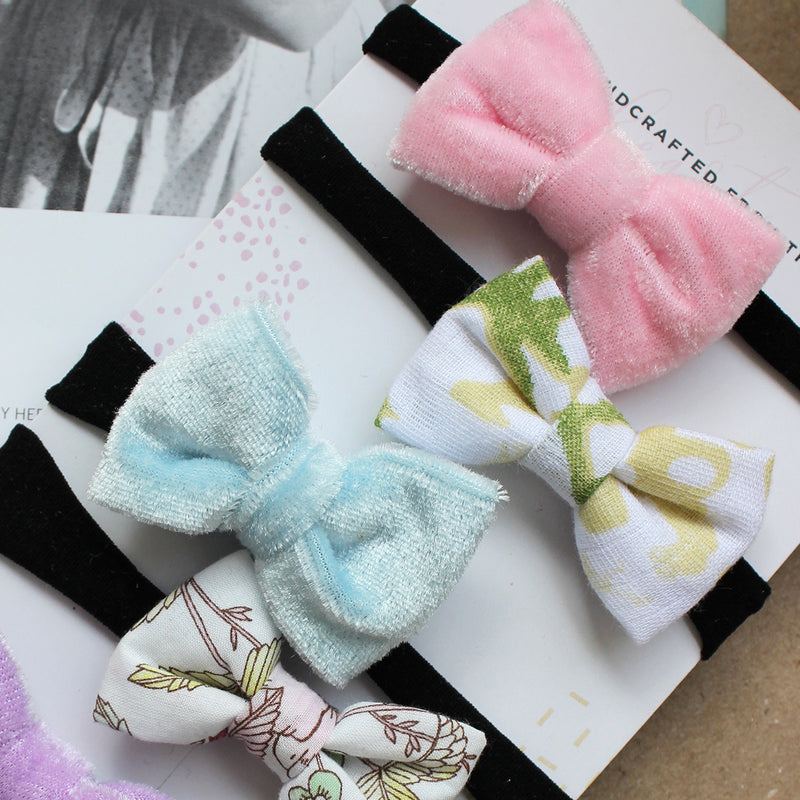 Baby It's Blanky Time - Set of 5 headbands