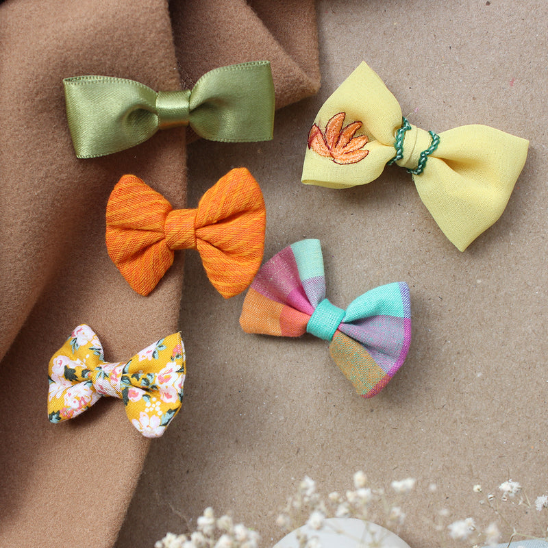 Pretty Pumpkin Patch - Set of 5 Mini Clips