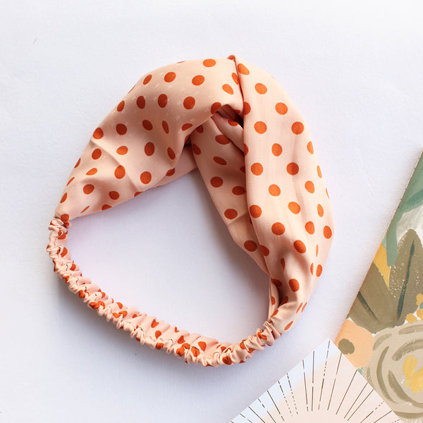Crazy About You - Fabric Headband