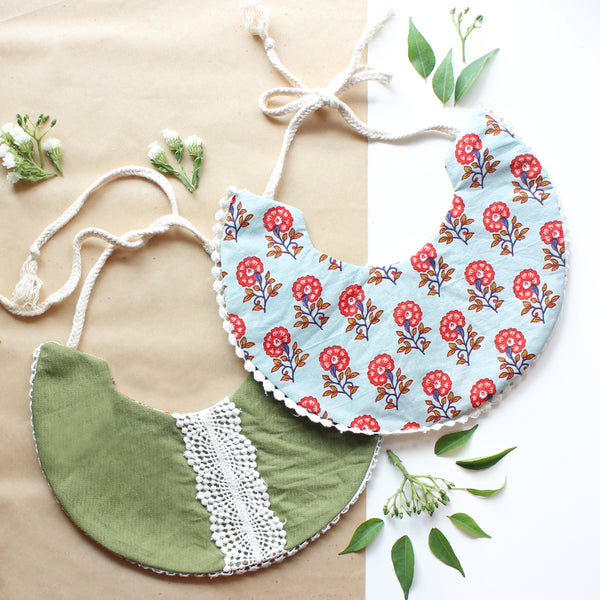 Kale Me Maybe Reversible Bib