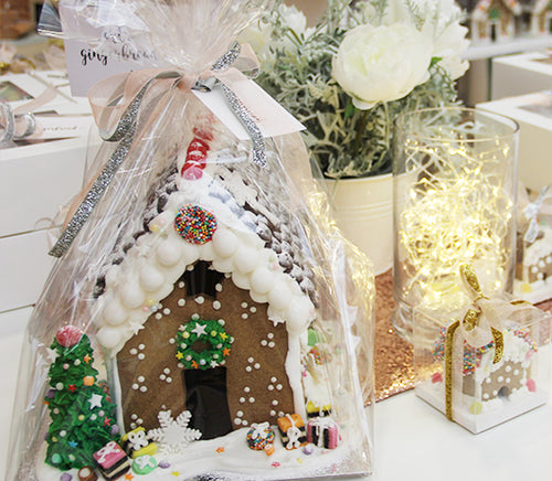 Large Gingerbread houses