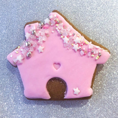 Christmas house cookies