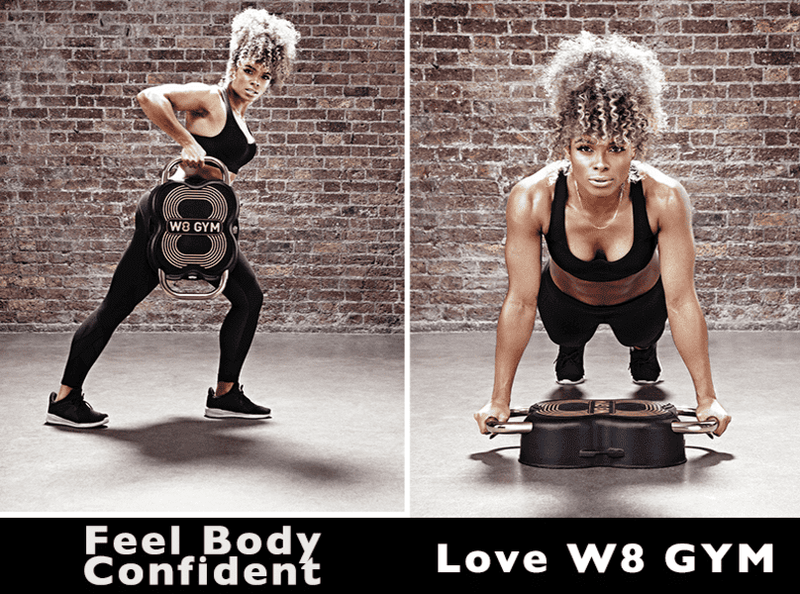 Feel body confident and love W8 GYM.  An excellent alternative to the wondercore 2